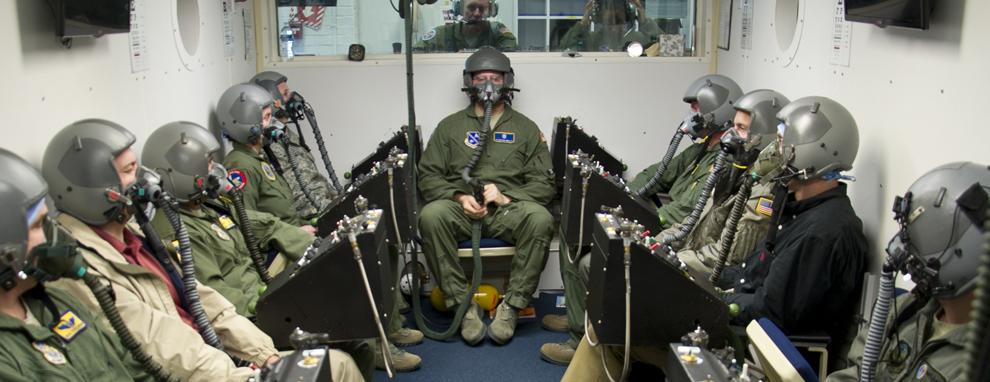 Chamber flight students receive training