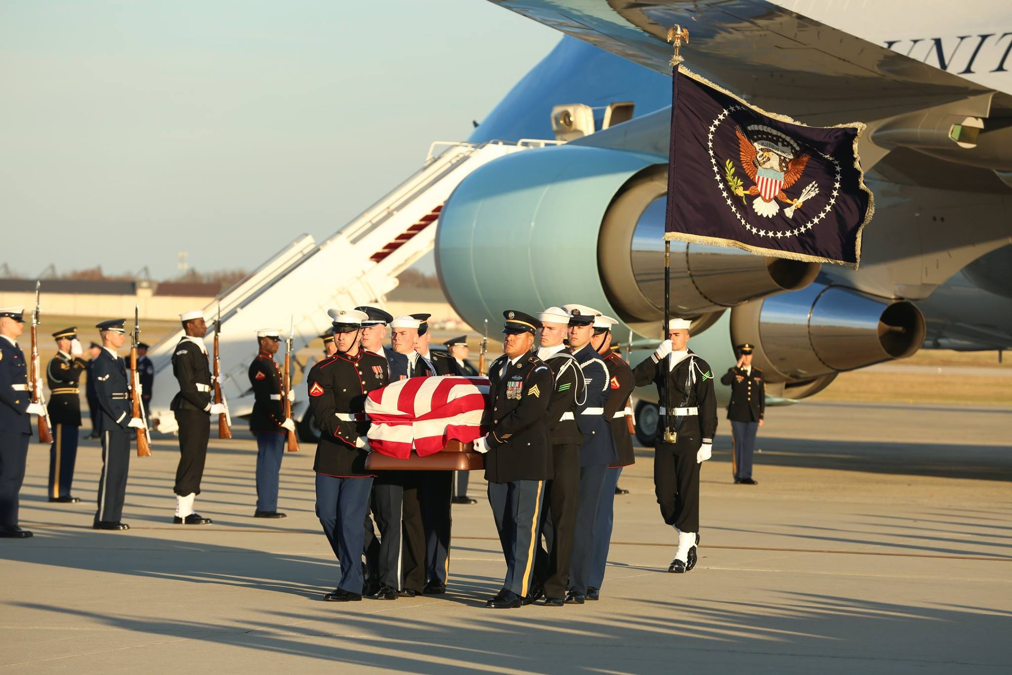 George H.W. Bush state funeral