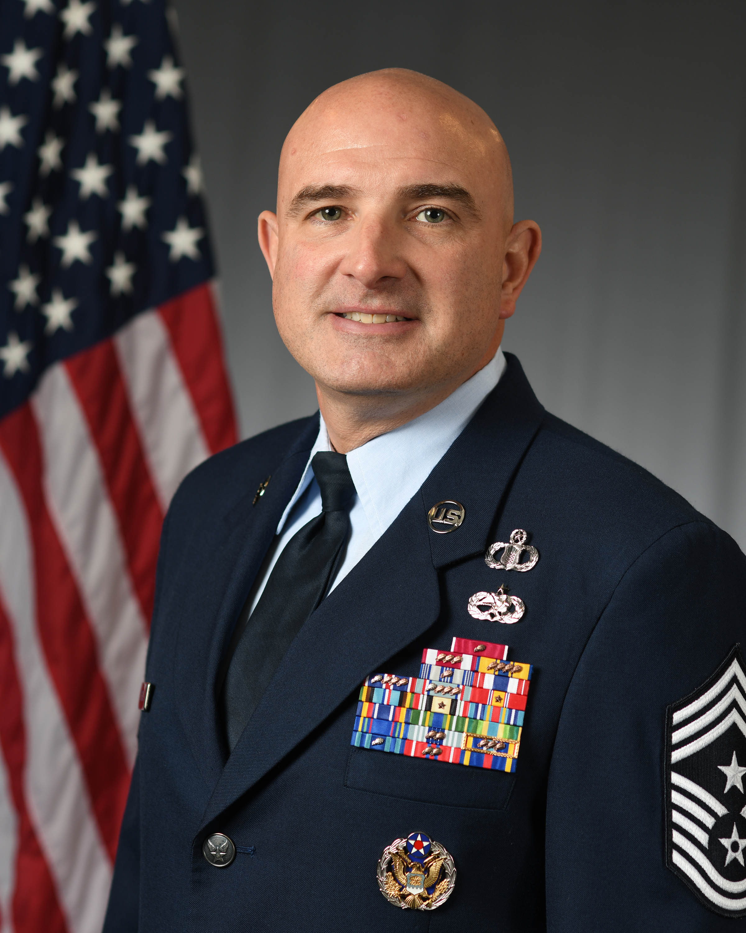 Command Chief Master Sgt. Christopher Yevchak